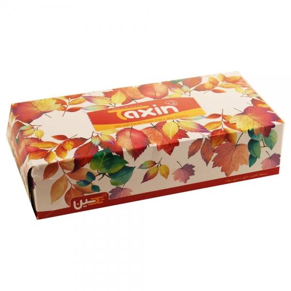 دستمال کاغذی 100 برگ تکسین، پک 5 تایی