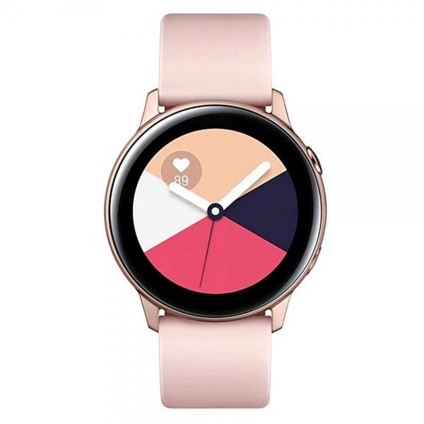 ساعت هوشمند سامسونگ مدل Galaxy Watch Active،رزگلد