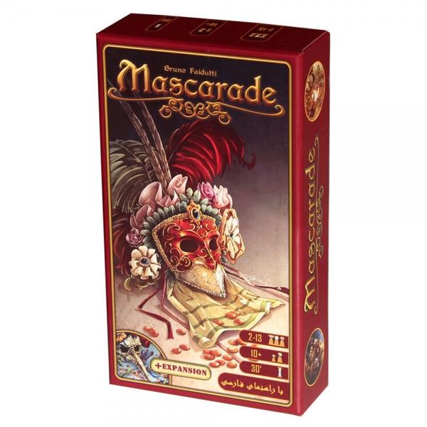 بازی فکری بازی کن مدل Mascarade