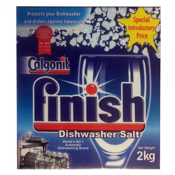 نمک ماشین ظرفشویی فینیش مدل Calgonit،بسته 2 عددی