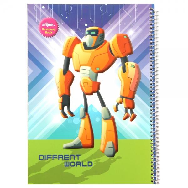 ست لوازم تحریر  طرح ربات کد 002