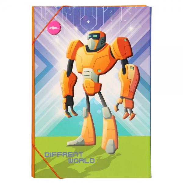 ست لوازم تحریر  طرح ربات کد 004