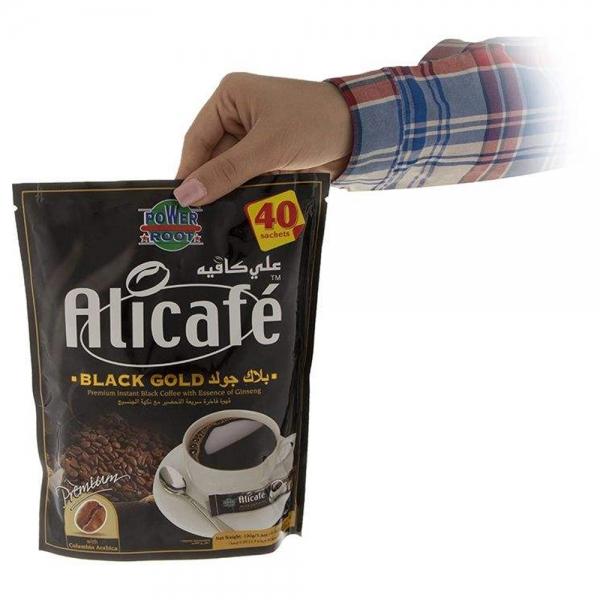 پودر قهوه علی کافه مدل Black Gold