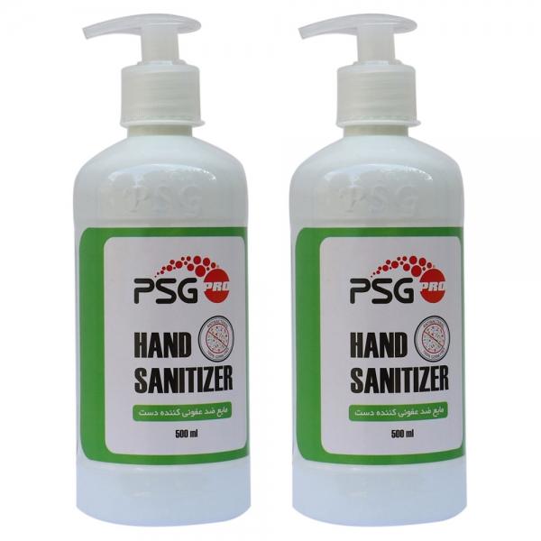 مایع ضدعفونی کننده دست PSG حجم 500 میلی لیتر