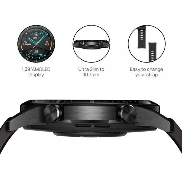 ساعت هوشمند هوآوی مدل WATCH GT 2 LTN B19 46 mm