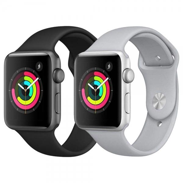 ساعت هوشمند اپل واچ 3 مدل 42mm Space Aluminum Case