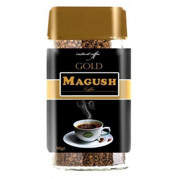 قهوه فوری ماگوش کلاسیک به همراه ماگوش گلد 60 گرمی
