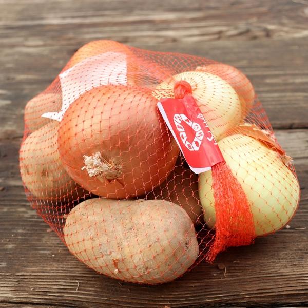 پک 2 کیلوگرمی سیب زمینی و پیاز خرید اول