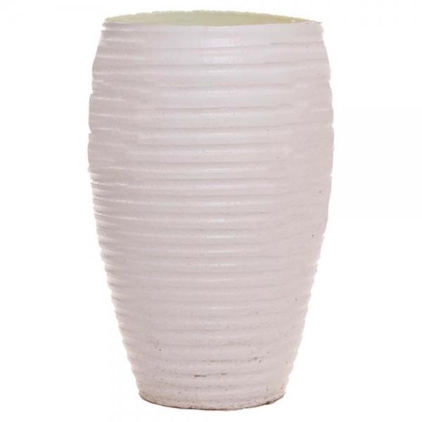 گلدان سفالی شیاردار در سایزهای مختلف