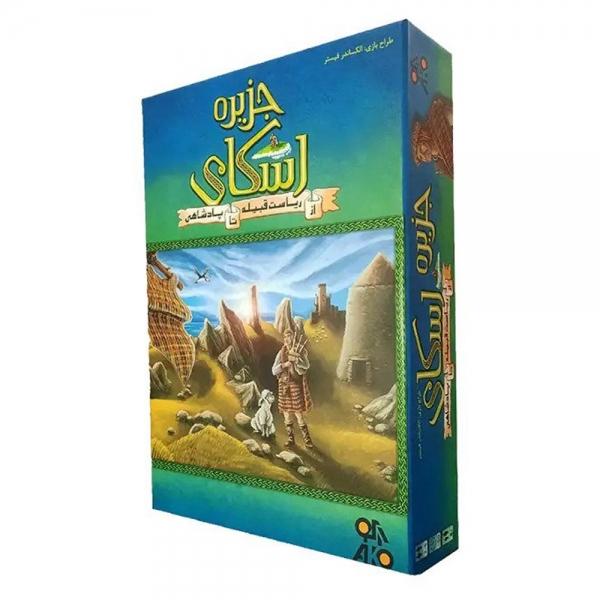 بازی فکری آکو گیمز مدل جزیره اسکای (Isle of Sky)