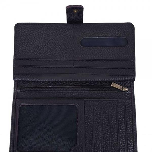 کیف پول چرمی پایاچرم طرح رنگارنگ 2042 مدل 06 15