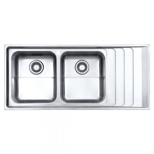 سينک ظرفشویی توکار استیل البرز مدل ۷۳۴